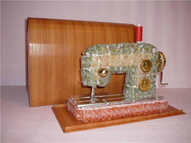 Как сделать швейная машина своими руками